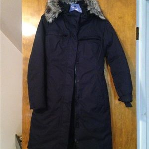 The north face puffer parka winter jacket XS